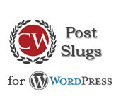 WordPress post slugs plugin